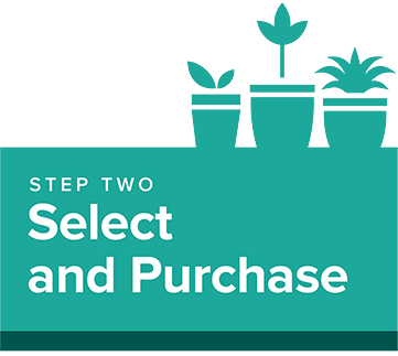 Step 2: Select and purchase
