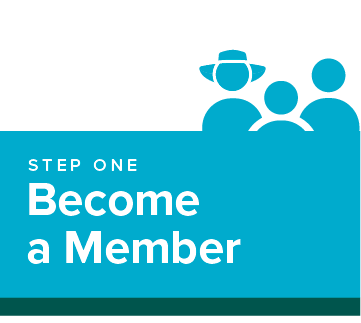 step 1: become a member